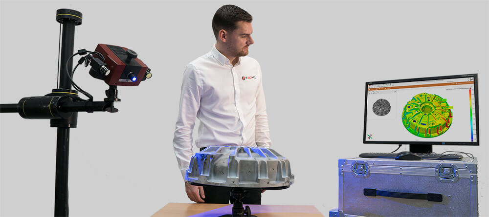 Portable 3D Scanning - T3DMC