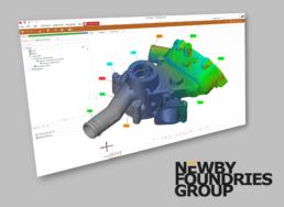 3D Scanning CAD Render