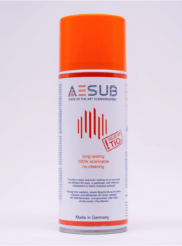 AESUB Orange 3D Scanning Spray
