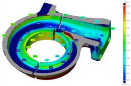 3D Scanning BorgWarner   3D Scanning Geometry   T3DMC