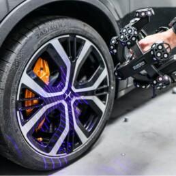 TrackScan for Automotive 3D Scanning